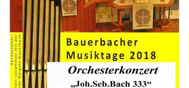Klangvoll – Konzert am Sonntag, 21.10.2018 um 19 Uhr