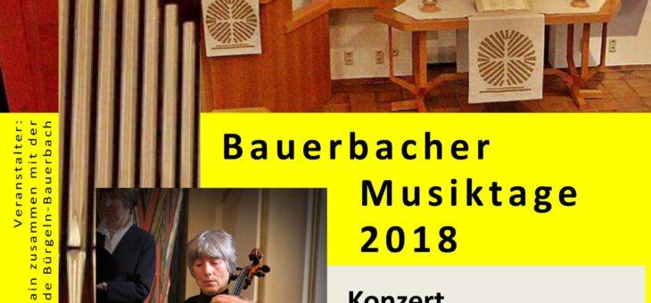 Einladung zum letzten Konzert der Saison – Klangvoll – 11.11.2018 um 19 Uhr
